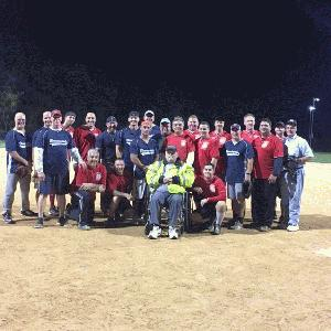 2017 Fire Department vs. Police Department Softball Game