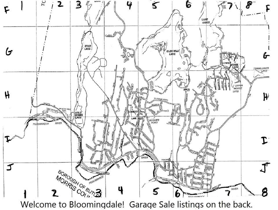 2018 Garage Sale Map